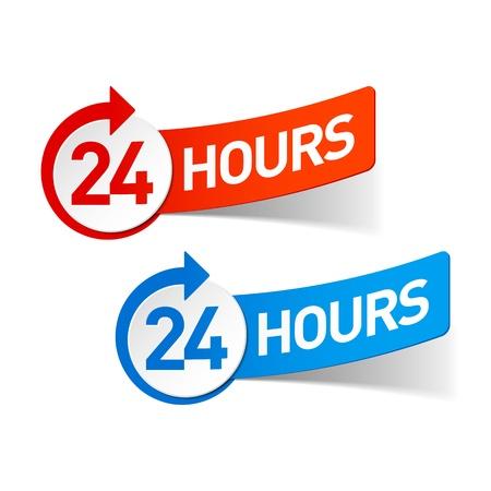 24 hours: 24 hours