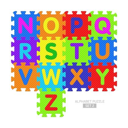 latin alphabet: Alphabet puzzle