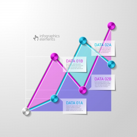 Abstract diagram infographics template Stock Vector - 22397146