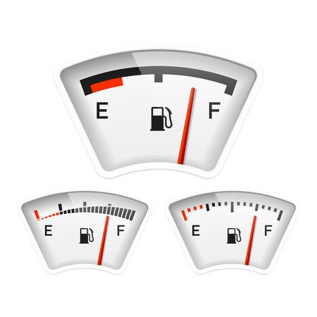 Kraftstoffanzeige Standard-Bild - 22397150