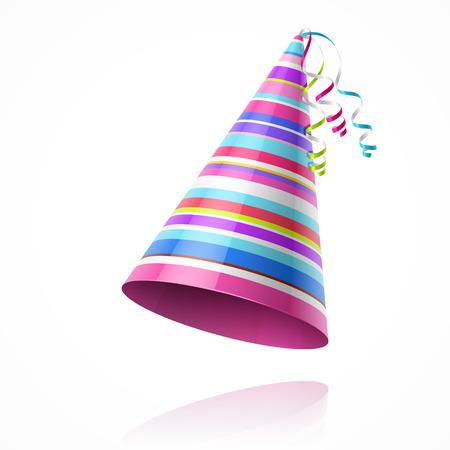 compleanno: Partito cappello Vettoriali