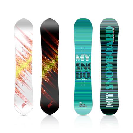 Snowboard design Stock Vector - 23244455