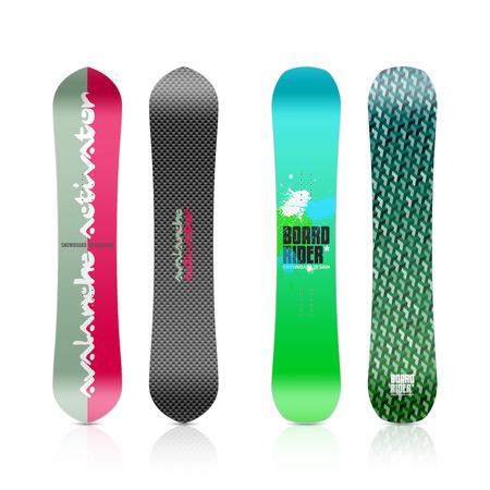 Snowboard design Stock Vector - 23244450