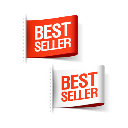 Bestseller labels Stock Vector - 23244460