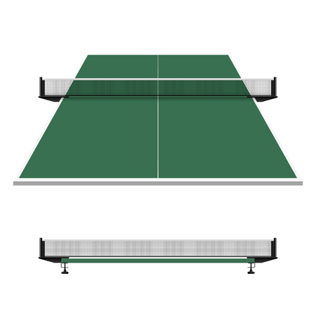 real tennis: Table tennis net