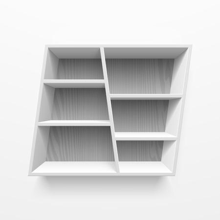 Wall shelves Stock Vector - 23796314