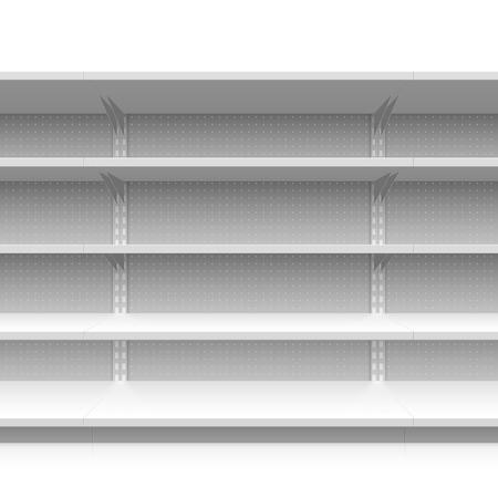 etagere murale: Les rayons des supermarch�s