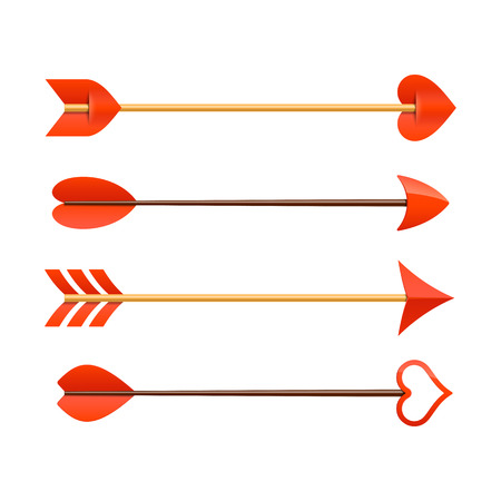 Cupids arrows Illustration