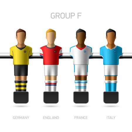 european championship: Table football   foosball players  European championship