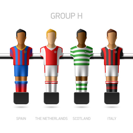 desk toy: Table football   foosball players  European championship