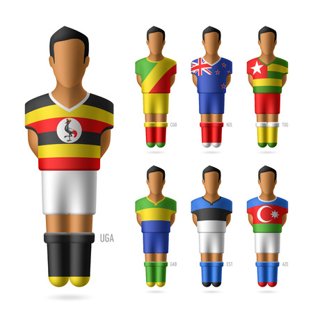 congo: Soccer   football players of national teams