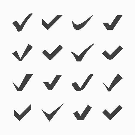 チェック マークのアイコン  イラスト・ベクター素材