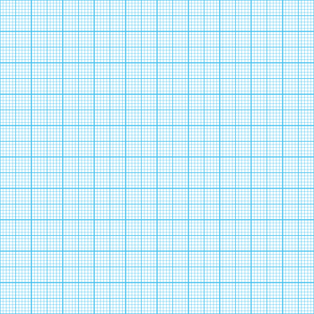 Graph, millimeter paper  Seamless, real scale  Vector