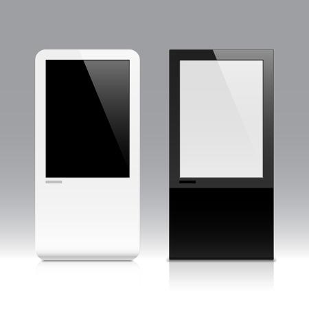 �cran tactile: �cran tactile interactif Illustration