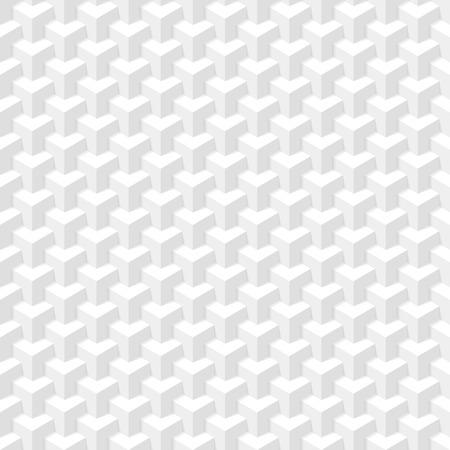muster: Weiß geometrische Textur Nahtlose Illustration Illustration