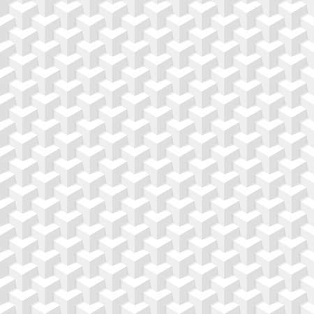design pattern: White geometric texture  Seamless illustration
