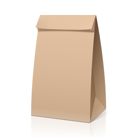 brown: Recycle brown paper bag