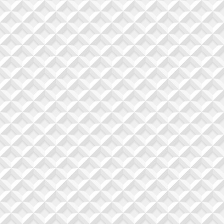 White seamless geometric pattern Vector