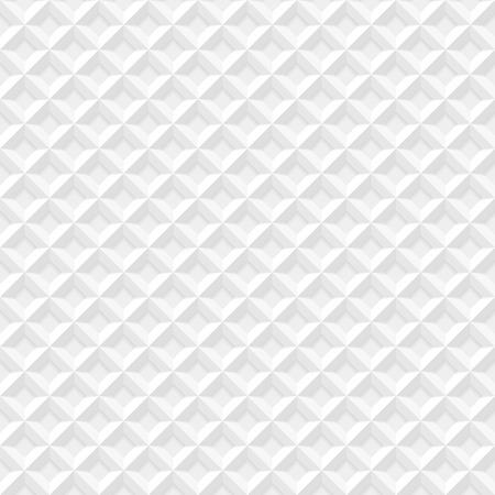 Naadloze: Wit naadloze geometrische patroon