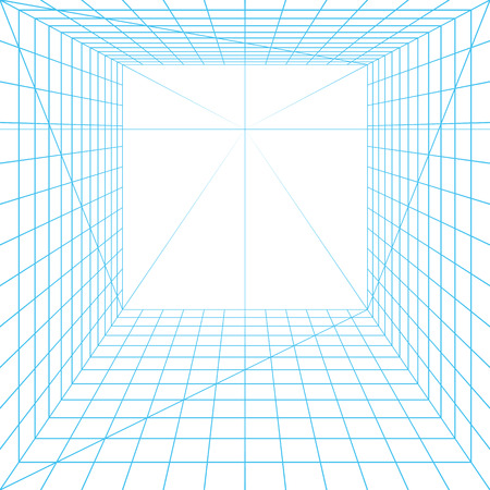 grid background: Perspective grid