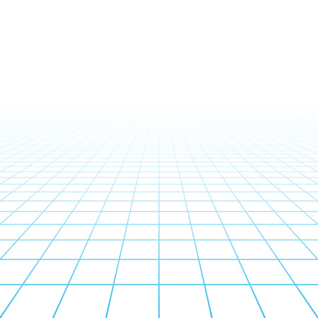 Perspective grille fond Illustration