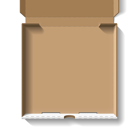 caja de pizza: Caja de pizza Inaugurado