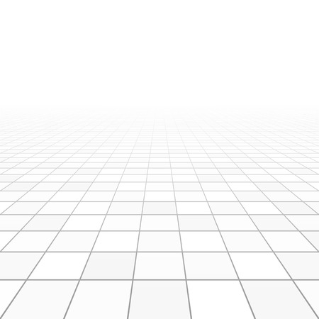 grid background: Floor tiles perspective