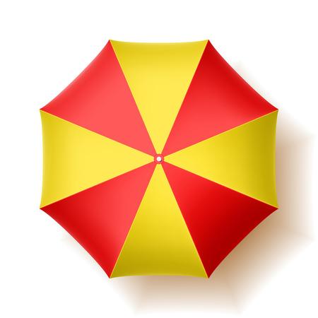 ombrellone spiaggia: Ombrellone, vista dall'alto
