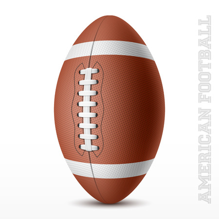American football Stock Vector - 32228714