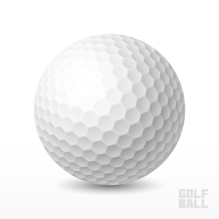 golf club: Golf ball