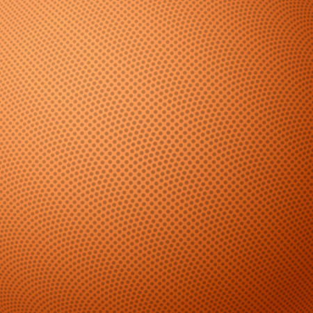 leather texture: Basketball texture with bumps Illustration