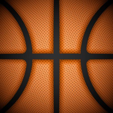 closeup: Basketball Hintergrund, close-up view