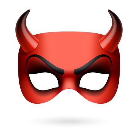 Máscara de diablo Foto de archivo - 32360416