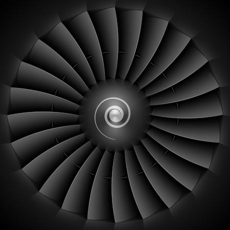 propulsion: Jet engine turbine blades