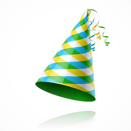 auguri di compleanno: Partito cappello Vettoriali