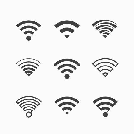 Draadloos, Wi-Fi pictogrammen