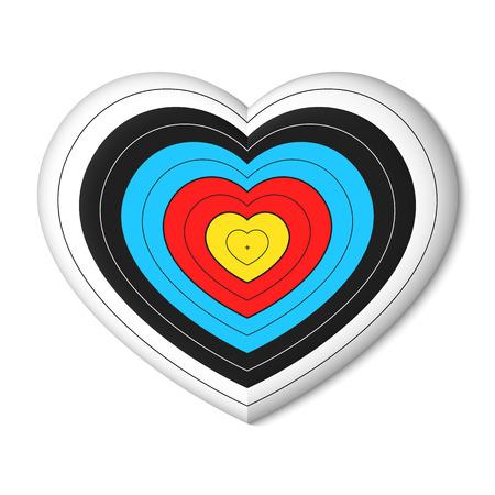 love target: Cupids archery target