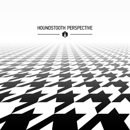 houndstooth: Houndstooth pattern perspective