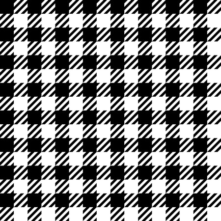 Gingham pattern, seamless illustration Vector
