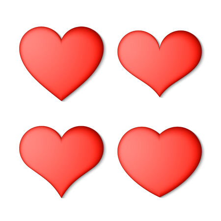 seduction: Red hearts set