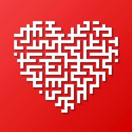 jeu de carte: Coeur Maze