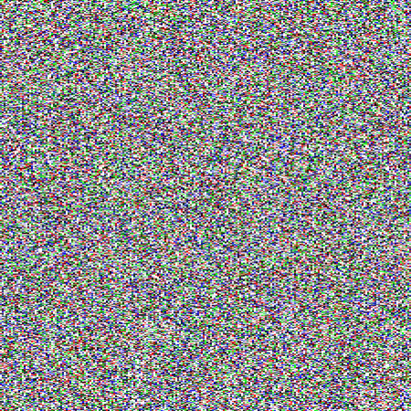 digital television: TV noise seamless texture Illustration