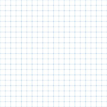hoja en blanco: Papel cuadriculado, ilustración perfecta