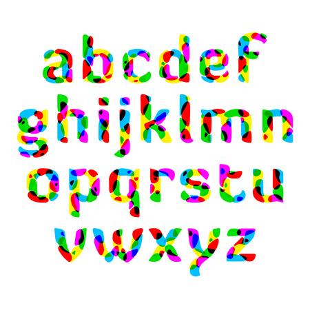 bright alphabet: Bright alphabet