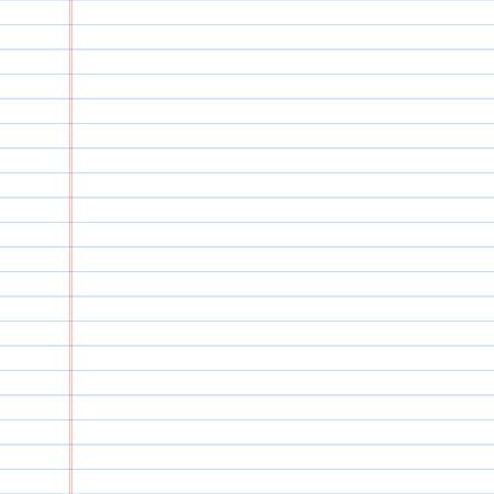 nota de papel: Papel rayado