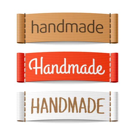 label sticker: Handmade labels