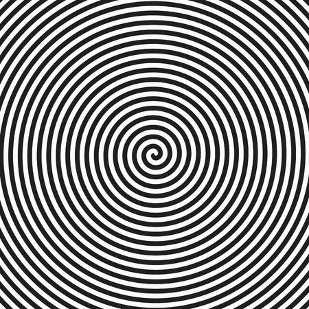 催眠スパイラル背景  イラスト・ベクター素材
