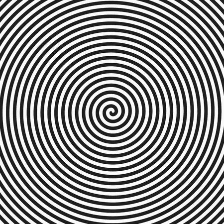 Hypnosis spiral background Stock Illustratie