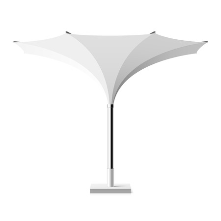the shade: Sun shade tulip umbrella Illustration
