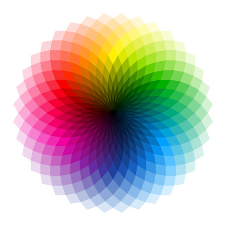 color charts: Color wheel